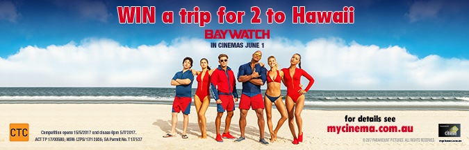 baywatch my cinema promotio