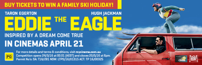 eddie the eagle my cinema promotion