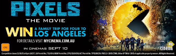 pixels my cinema promotion