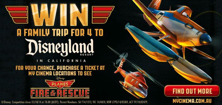 planes fire and rescue my cinema promotion