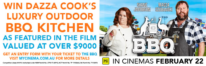 the bbq my cinema promotion