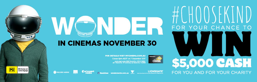 wonder my cinema promotion